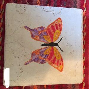 """Other - 6"""" x 6"""" handmade tile hot plate-trivet / wall art"""